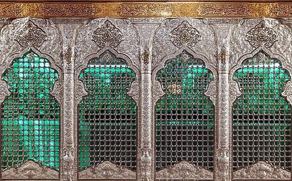 صوت عاشوراء كشف الستار عن ضريح الامام الحسين عليه السلام الجديد