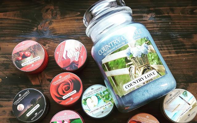 Zapachy Country Candle - szybki post zakupowy - Czytaj więcej »