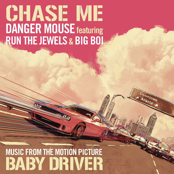Danger Mouse - Chase Me (feat. Run the Jewels & Big Boi) - Single Cover