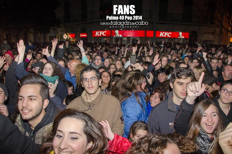 Fans en el Palma 40 Pop 2014. Héctor Falagán De Cabo | hfilms & photography.