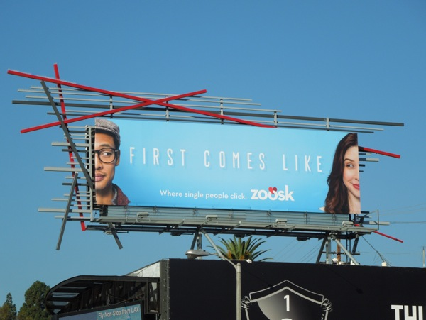 First comes like Zoosk dating billboard