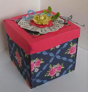 """""""EXPLODING BOX"""".....RETO NOVIEMBRE DE LOCAS."""