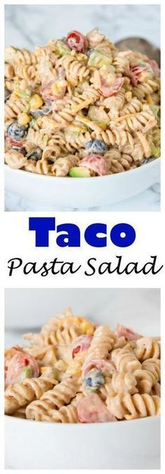 Taco Pasta Salad Recipes