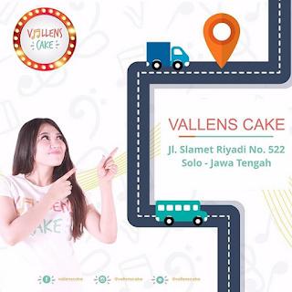 Alamat Outlet dan Lokasi Vallens Cake Oleh Oleh dari Via Vallen