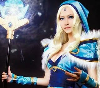 Crystal Maiden (Rylai) DOTA photo 8