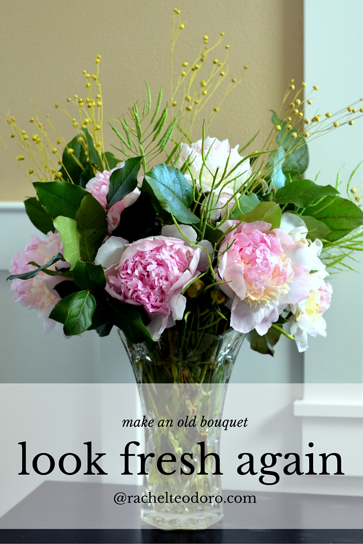 How to Refresh Flowers From the Market and Make a Bouquet Last for ...
