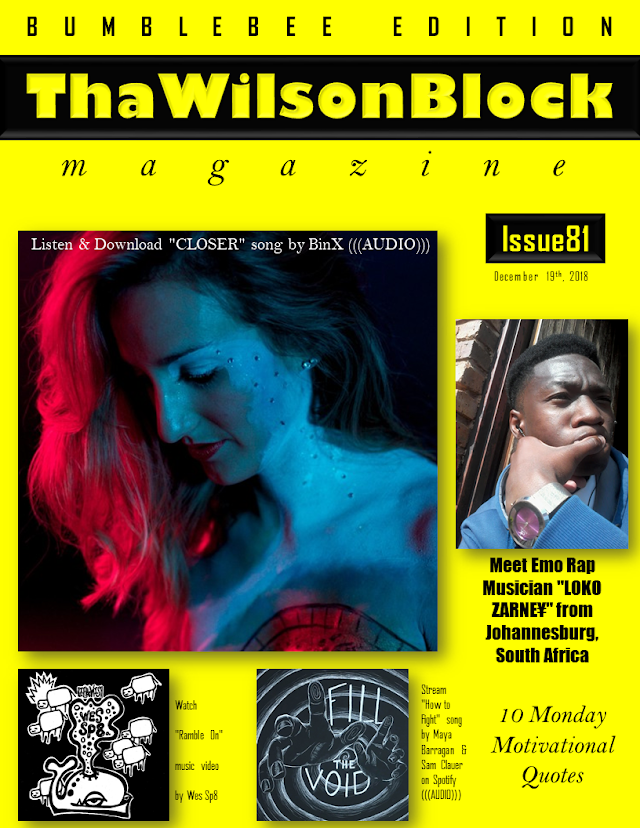 ThaWilsonBlock Magazine Issue81 (December 19th, 2018)