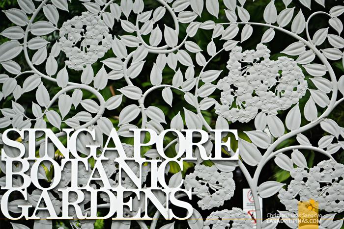 Singapore Botanic Gardens Gate