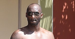 d73983588042 StarrLab  Kobe Bryant goes shirtless to reveal buff physique on Italian  vacation.