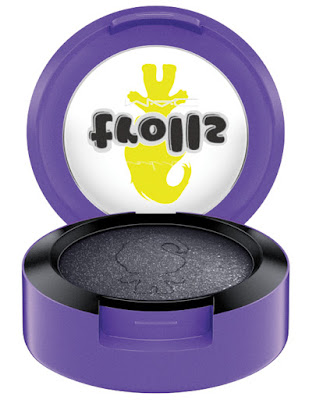 mac good trolls collection eyeshadow black tied