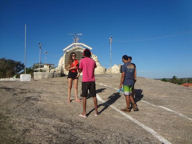 TV Diário faz reportagem sobre turismo chavalense