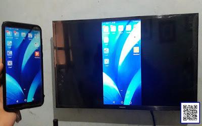 طريقة عرض شاشة الموبايل او التابلت على التلفزيون لاسلكيا وبدون كابلات