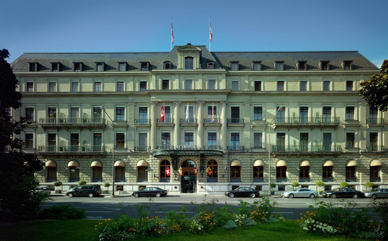Intravelreport swiss tel m tropole geneva announced new for Design hotel geneva