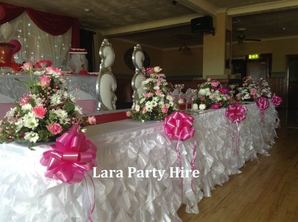 Bridal Top Table €100