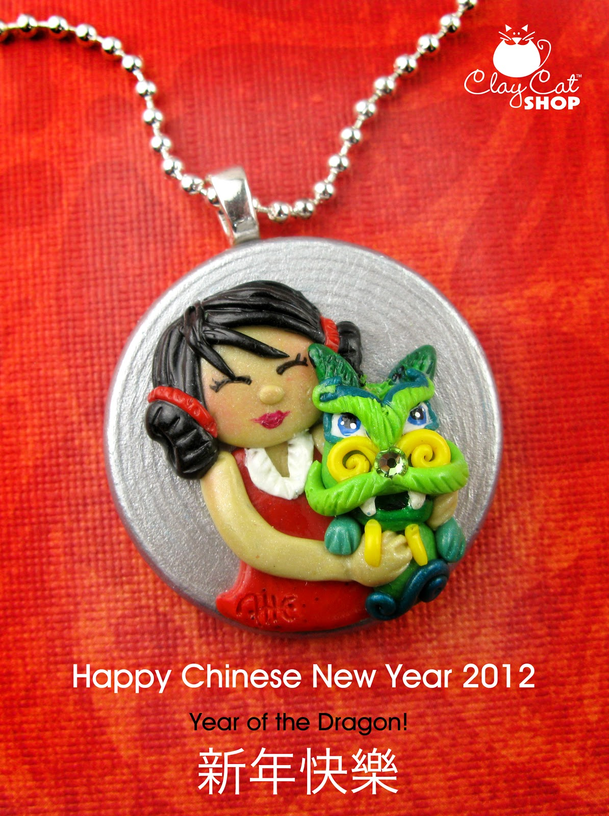 ClayCatShop's Blog: Happy Chinese New Year: Year of the Dragon
