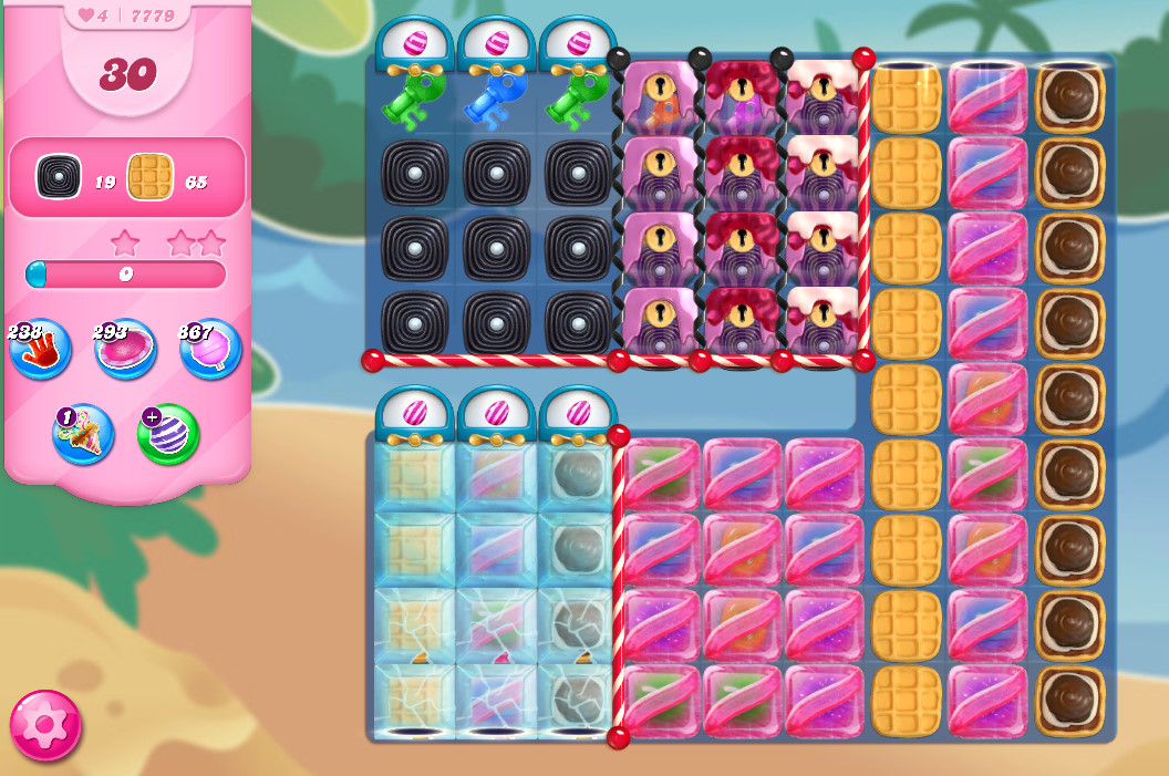 Candy Crush Saga level 7779