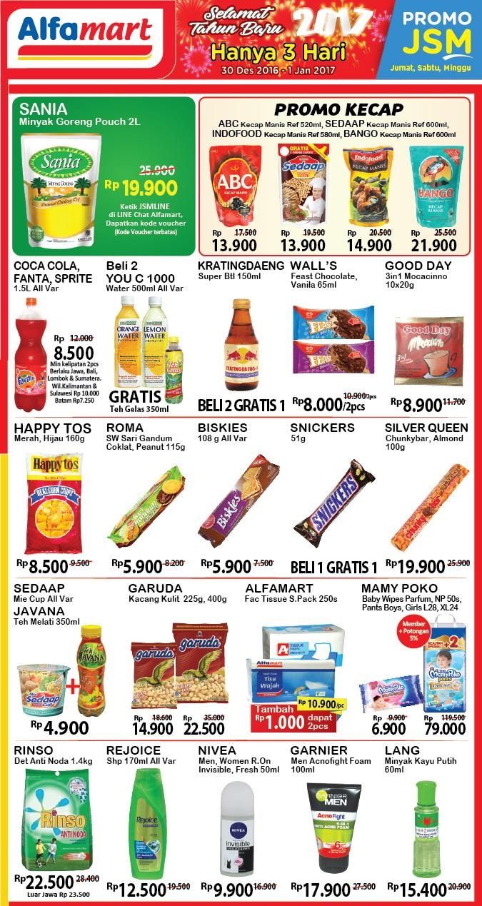 Katalog Promo Nusantara Alfamart Jsm 30 Desember 2016 1 Januari