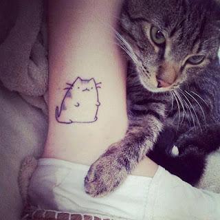 ลายสักแมว