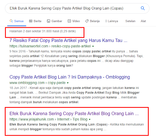 Penyebab Utama Artikel Tidak Terindex Di Google Dan Cara Mengatasinya