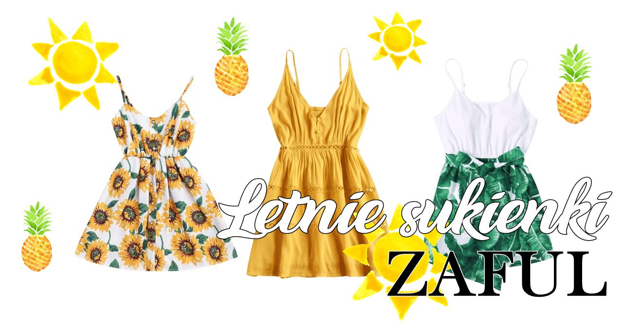 Letnie sukienki ZAFUL