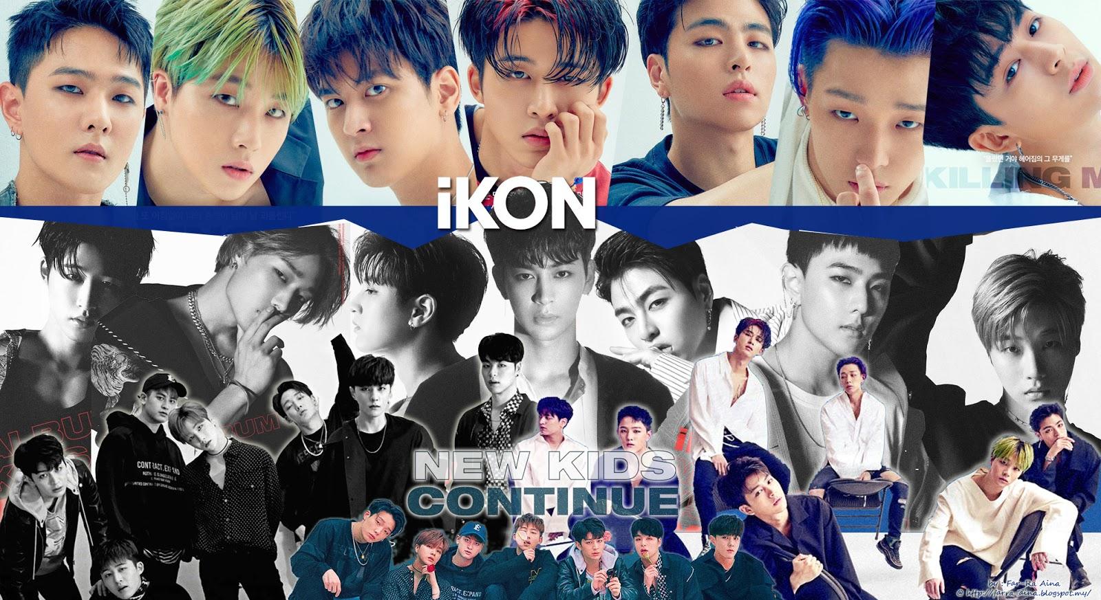 k-pop lover ^^: iKON - New Kids : Continue WALLPAPER