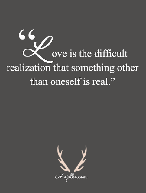 Love Is Difficult Love Quotes