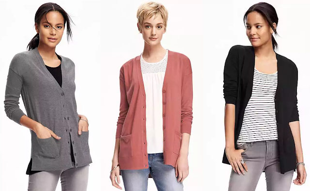Old Navy Boyfriend Cardi $15 (reg $33) - I got two!