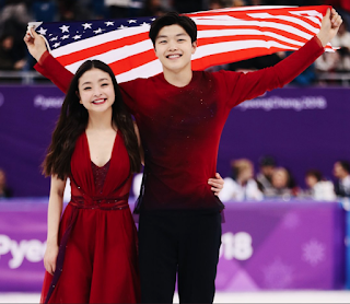 Hermanos Mia y Alex Shibutani, medallista Olimpicos