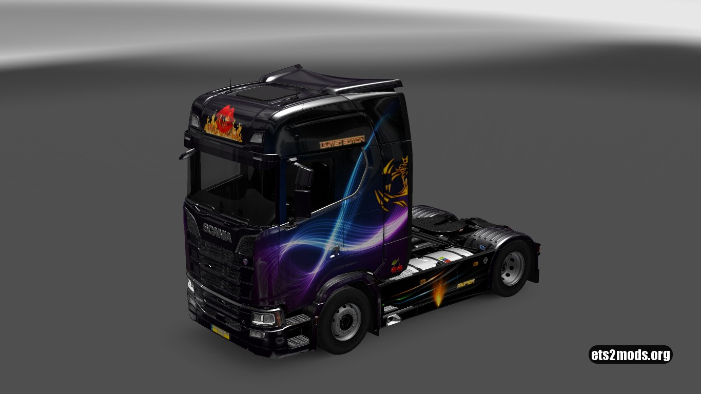 Lips Skin for Scania S580