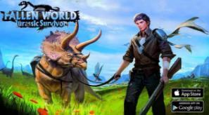 Fallen World Jurassic survivor APK MOD