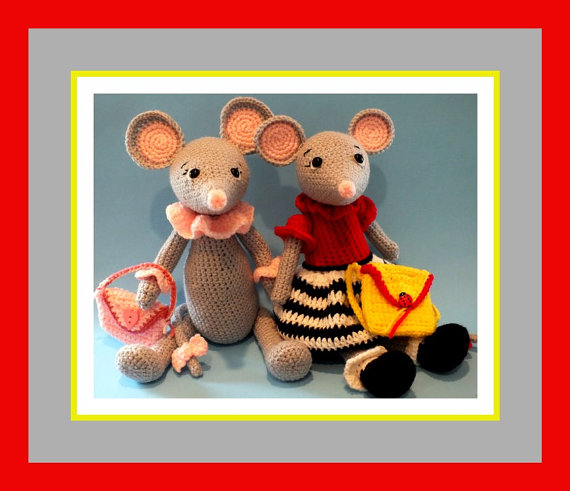 Little Miss Mindy Mouse Crochet Doll Pattern©