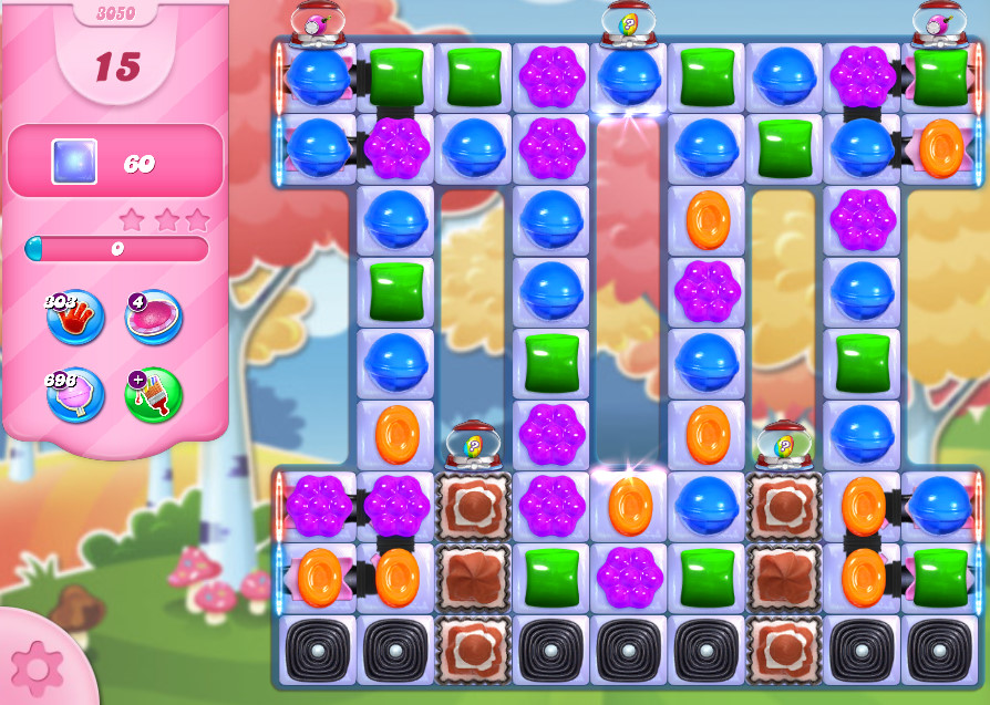 Candy Crush Saga level 3050