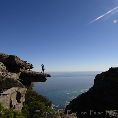 On the Jumping Board at Kasteelspoort above Camps Bay