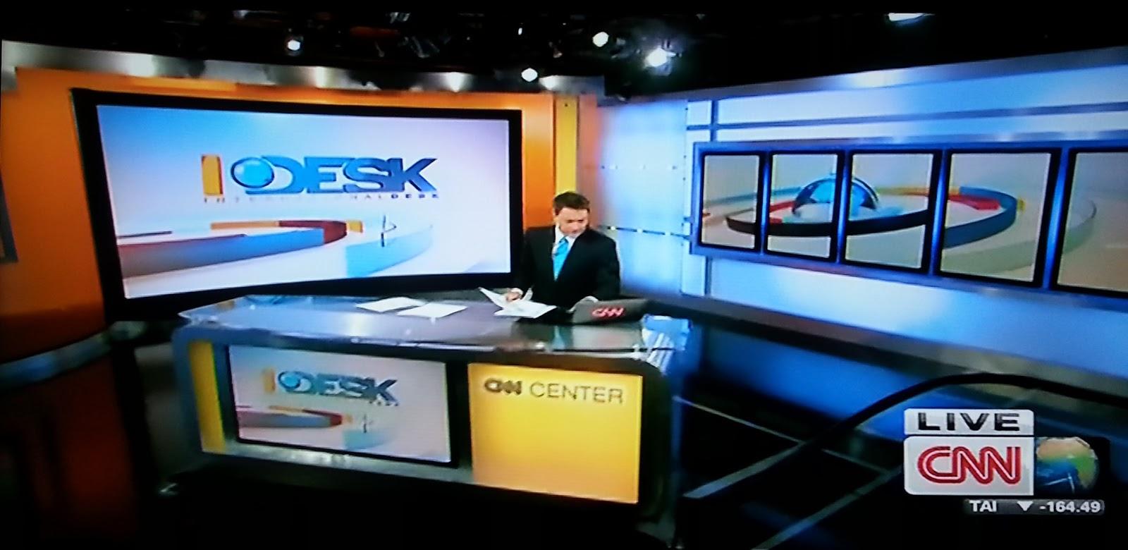 CNN Update: TV With Thinus: International Desk On CNN International