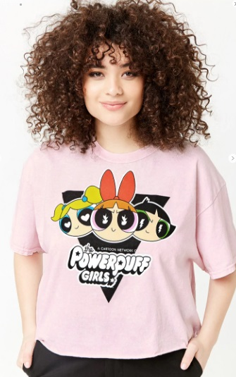 90s themed shirts Powerpuff Girls t shirt Forever 21 90s cartoon shirts