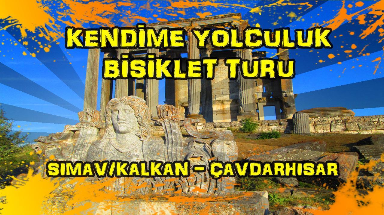 2015/09/18 Kendime Yolculuk Bisiklet Turu - (Kütahya/Simav/Kalkan - Kütahya/Çavdarhisar)