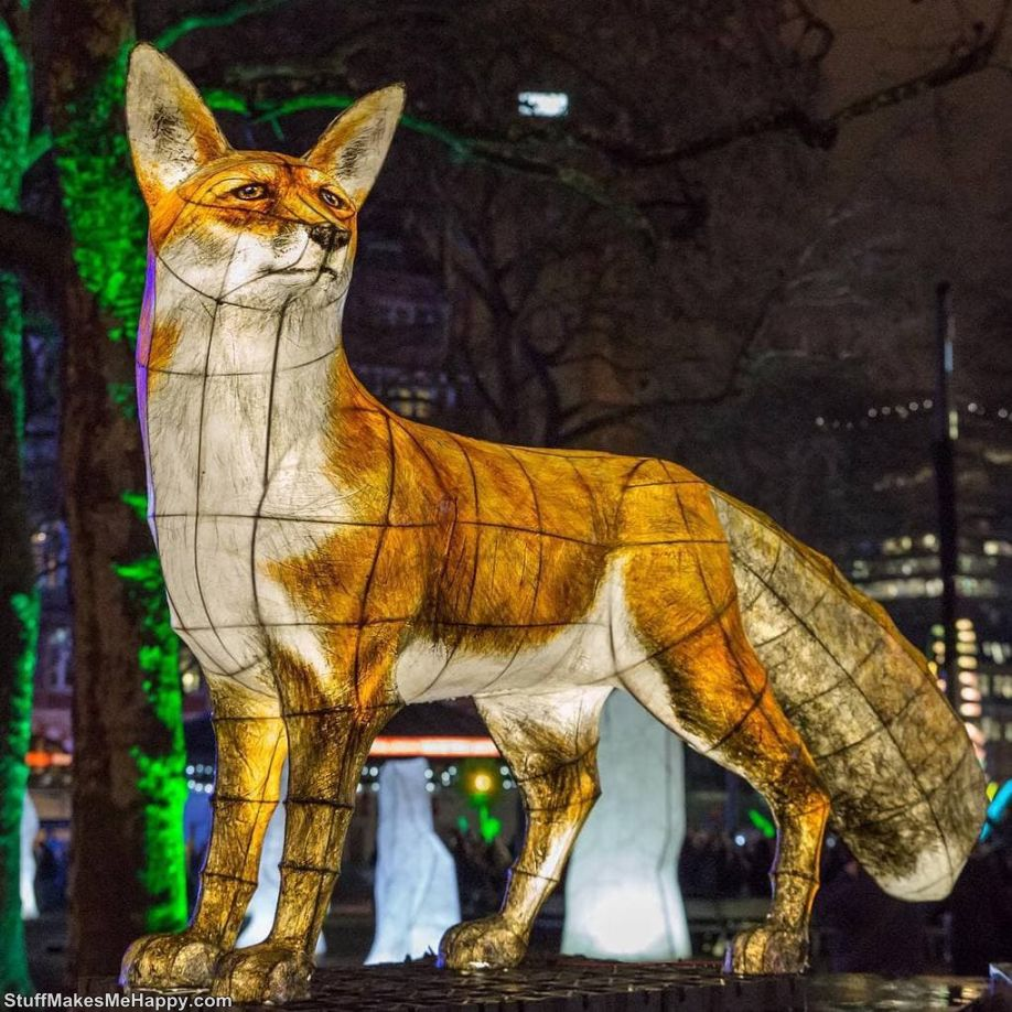 Astounding Pictures of Lumiere Festival London