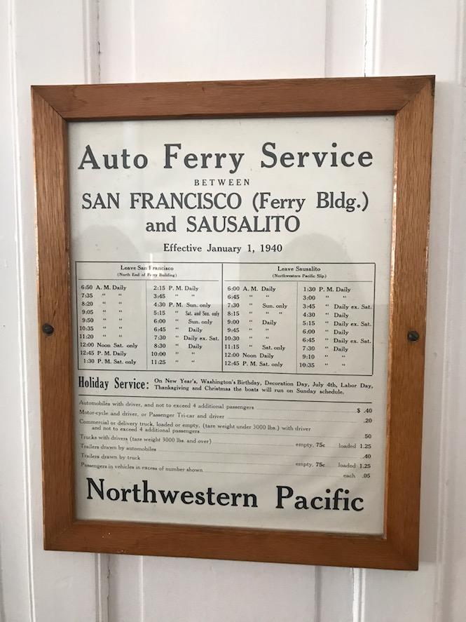 Eureka Ferry Prices 1940s