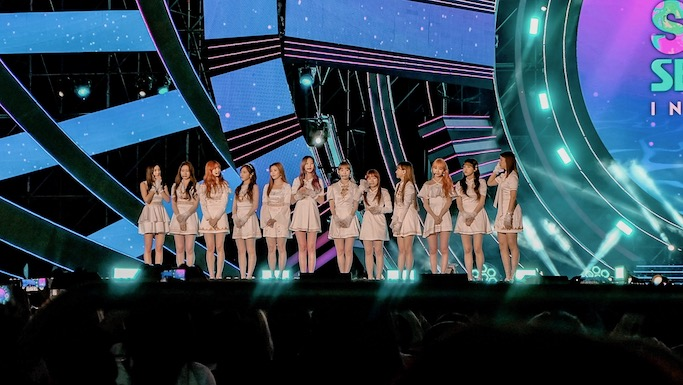 iz*one Kpop sbs super concert in gwangju