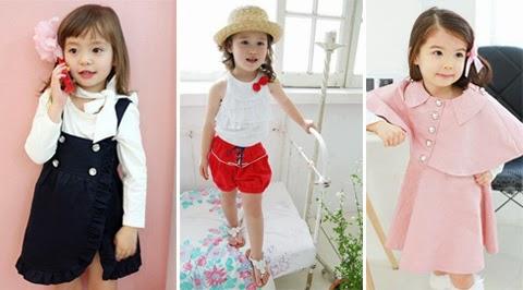 baju anak perempuan korea