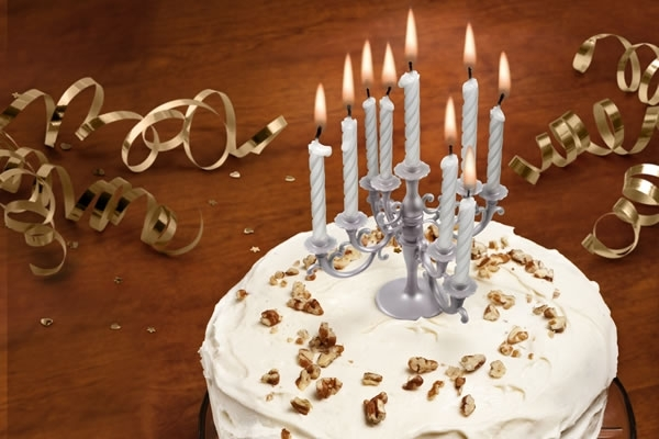 Why Settle For A The Normal Birthday Cake And Candle Any Adorned With This Splendid Holder Will Have An Unmistakeable Air Of Stately Home