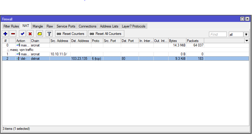 Pointing IP Public to goddady domain using Mikrotik IT