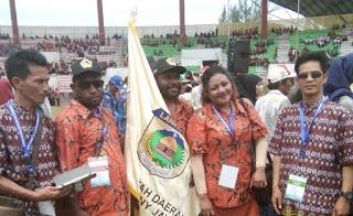 Rombongan Penas KTNA XV dari Sekadau Tiba di Aceh