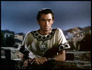 Gregory Peck en David y Betsabé