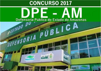dpe amazonas edital 2017