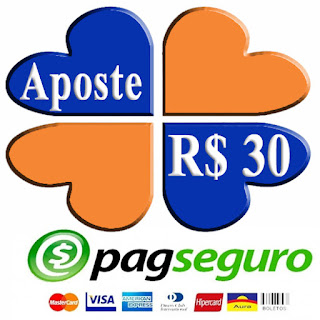 Aposte R$ 30 - PagSeguro