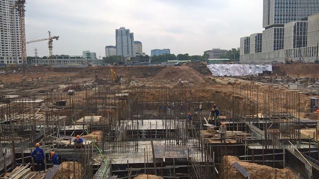 Tiến độ tòa A6 chung cư An Bình City