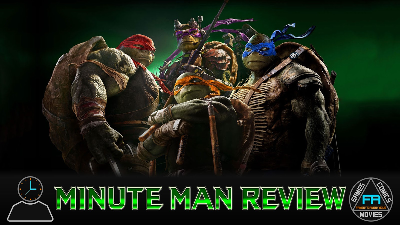 movie review Teenage Mutant Ninja Turtles: Out of the Shadows podcast