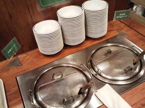 ビュッフェコーナー:スープ ステーキガスト一宮尾西店12回目