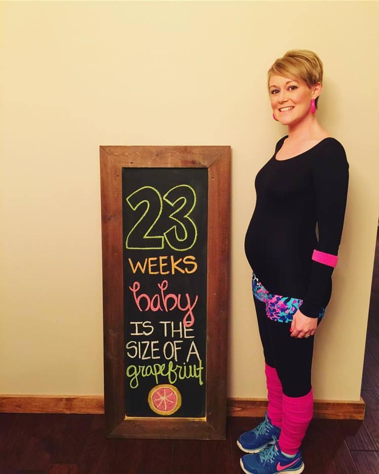 baby Ridley bump : 23 Weeks